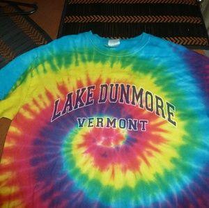 Other - TIE DYE SHIRT - Vermont Tee T-Shirt. Retro Vintage